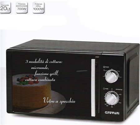 FORNO MICROONDE 20 LT.COMBI  G10109