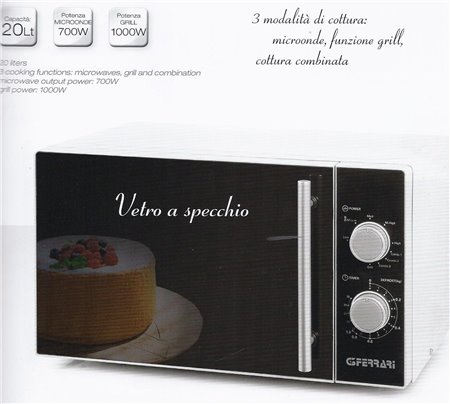 FORNO MICROONDE 20 LT.COMBI G10013