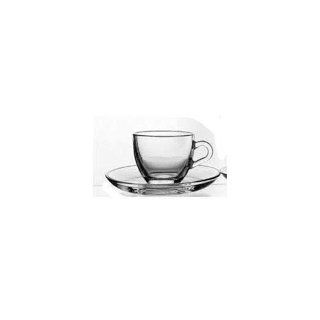 TAZZA VETRO CAFFE BASIC C/P 984