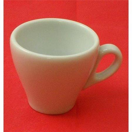 TAZZA CAFFE S/P CONICA BIANCA 27707