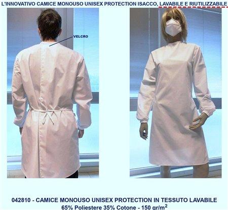 CAMICE PROTEZIONE UNISEX LAVABILE 042810