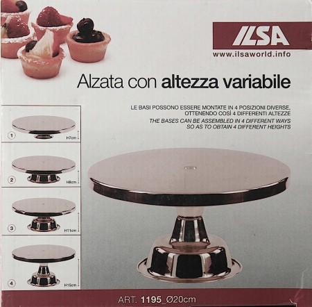 ALZATA INOX ALT.REGOLABILE 20  1195
