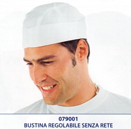 BUSTINA COTONE BIANCO C/ELASTICO 079001