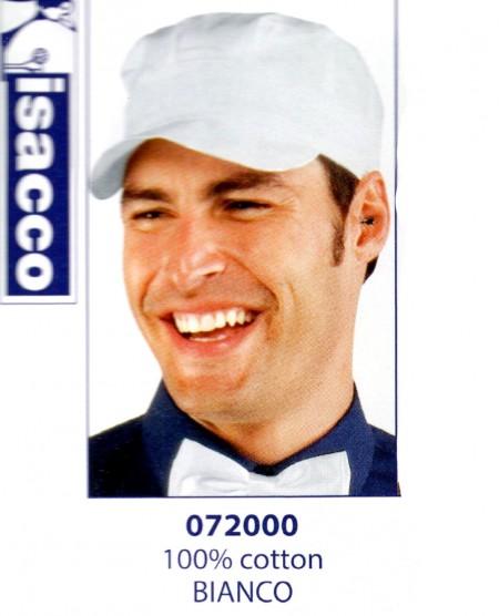 CAPPELLO SAM BIANCO COTTON  072000